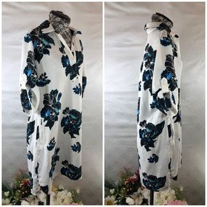 Chelsea & Theodore Dresses - NWT Chelsea & Theodore Floral Shirt Dress